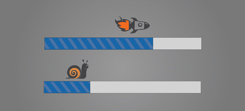 Be fast – decrease your landing page loading time